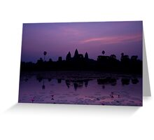 The Magnificent Angkor Wat Greeting Card