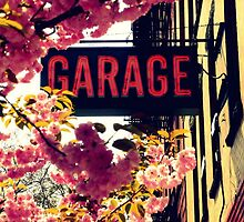Cherry Blossom Garage by ShellyKay