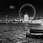 London eye by claudio galvan