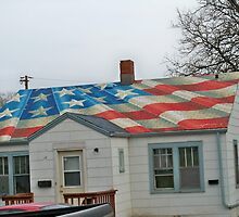 All American  ~  Flag Roof by kodakcameragirl