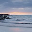 Sunset at Culla Beach, Benbecula by Christopher Thomson