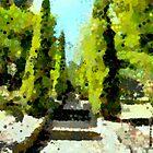 Maroondah path by Vivien Highground