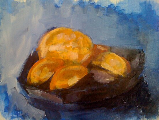 Orange Slices by Christine Hirtescu
