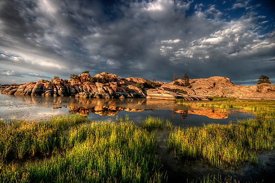 The Cloudy and the Calm by Bob Larson