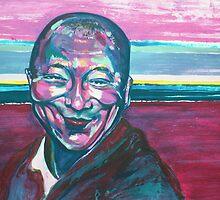 the physical  Dalai Lama  by Zoviar