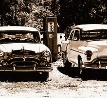 Old Cars by Terry Runion