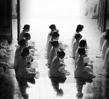 Monks by Lee Lee
