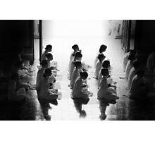 Monks Photographic Print