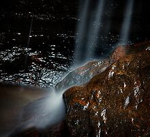 Victory Falls- Hazelbrook, Blue Mountains, NSW by Dot Radley