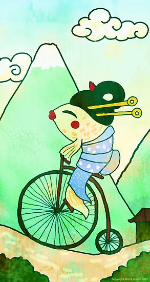 Fishy Penny by Marta Tesoro