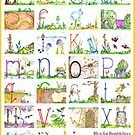 Bb is for Bumblebees & Butterflies (Wall Display) by Agnew & Roberts