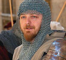 Mdina Malta --- Medieval Swordsman (light-Armor) by Edwin  Catania