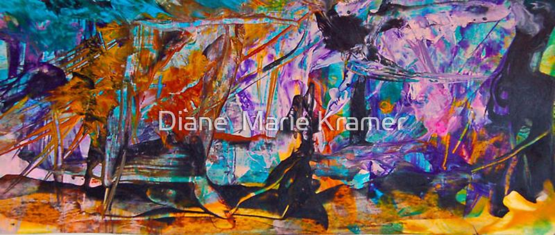 The Wizard wears a Black Dress by Diane  Kramer