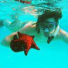 Bahama Starfish by Bobby Rognlien