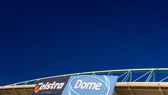 Telstra Dome by morealtitude