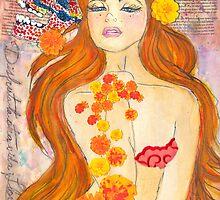 Flor De Muertos by Natalia Melgar