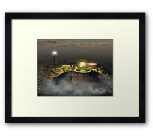 THE MAGUS REQUIRES AN APPRENTICE Framed Print