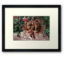 Dragon Fountain Framed Print
