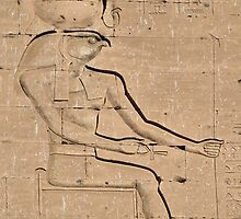 Horus god hieroglyph 2 by rhallam