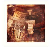 Past Imperfect - Cathedral Split, Croatia Art Print
