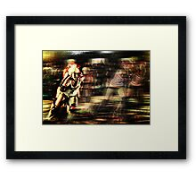 Roller Derby Girls II Framed Print