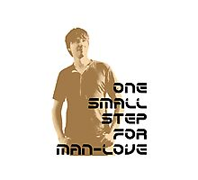 one small step for man love Photographic Print