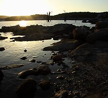 A Rocky Lake by fortheloveofit