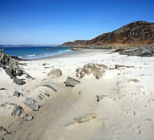 Beach at Arisaig. by John Cameron