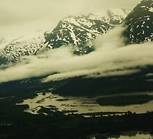 Up in the Alaskan Sky  by LissaCole
