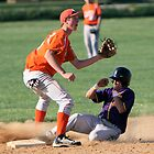 Tyler Thomas (EHS) stealing second vs Fallston 4-14-10 by Gregg Tulowitzky