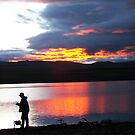 Malheur Reservoir Sunset by slaurance