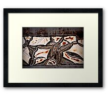Can-Can Kangaroos Framed Print