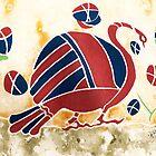 """My Big Fat Greek Goose"" No. 2 by Elisabeta Hermann"