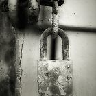 Old Lock by Maria  Gonzalez