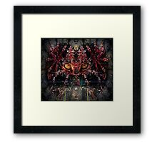Triad (Image, poem & song) Framed Print
