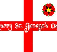 St. George's Day Greeting Card by wu-wei