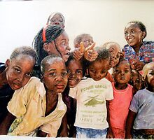 Come together, children of Swaziland by Robyn Du Toit