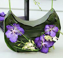 Orchid handbag by rhallam