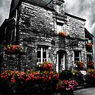 Old House in Rochefort-en-Terre, Brittany, France by Buckwhite