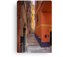 "Lerici - Tipical ""Carobbio"" (Alley) Canvas Print"