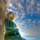 Jade Buddha for Universal Peace by njordphoto