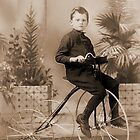 """A Proud Young Lad & His Trike"" by Gail Jones"