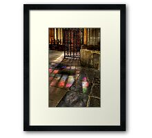 Fiat Lux - Let there be light Framed Print