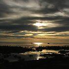 Silver - Gold: Water - Sky by Bowen Bowie-Woodham