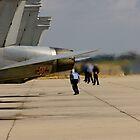 Jet Blast...Beware! by Buckwhite