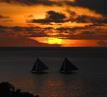 Boracay Sunset 1 by John Caddell