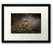 Sea stories. Framed Print