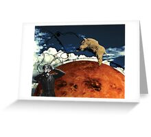 Aries rising Greeting Card