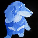 Boo in Blue on Black by Sarah McCay