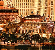 Paris or Las Vegas by Don Despain